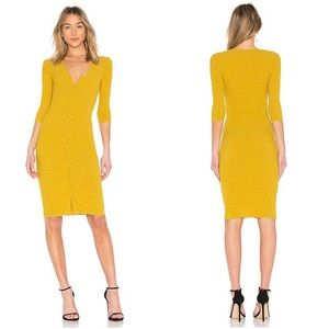 NWT Tularosa Angie Ribbed Sweater Dress